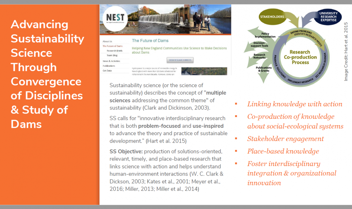 sustainability science concepts slide